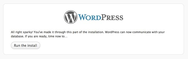 wordpress all right sparky